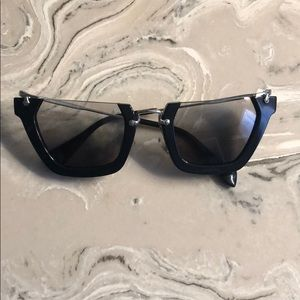 23cc59ab323 Miu Miu Sunglasses Black